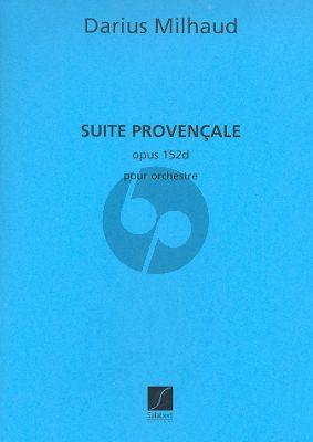 Suite Provencale Op.152d Orchestra Study Score