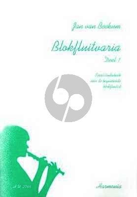 Beekum Blokfluitvaria Vol.1 Sopraanblokfluit