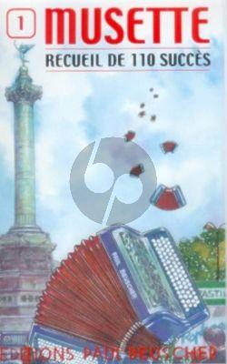 Musette vol.1 110 Succes pour Accordeon