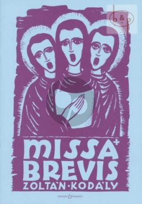 Missa Brevis SATB-Organ or Orchestra