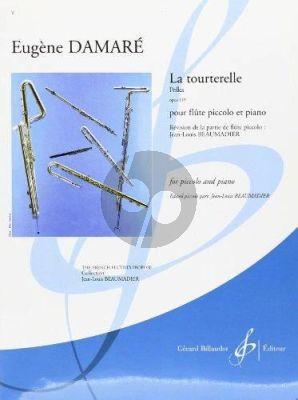 Damare Le Tourterelle Op.119 Piccolo-Piano (moyen/Sup.) (Beaumadier)