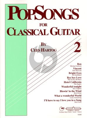 Hartog Popsongs for Classical Guitar Vol.2