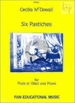 6 Pastiches Flute [Oboe]-Piano