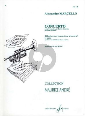 Marcello Concerto D-Minor Trumpet-Orchestra Pianoreduction Ivan Jevtic