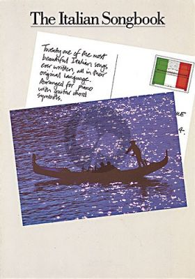 The Italian songbook Piano-Vocal-Guitar