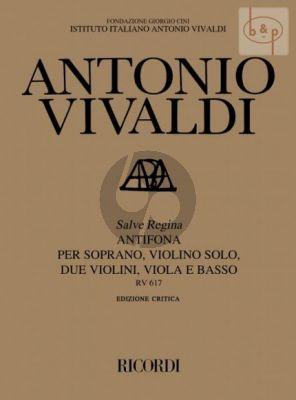 Salve Regina (Antifona RV 617) (Soprano- Violin solo- 2 Vi.-Va.-Basso)
