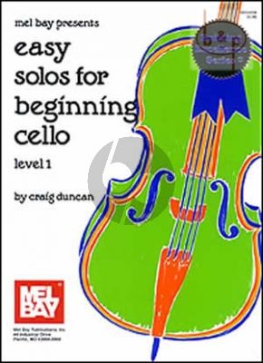 Easy Solos Beginning Cello Level 1 Cello-Piano