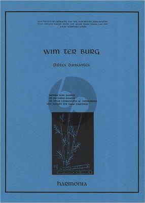 Burg Flutes Dansantes 4 Recorders (SATB) (Score)