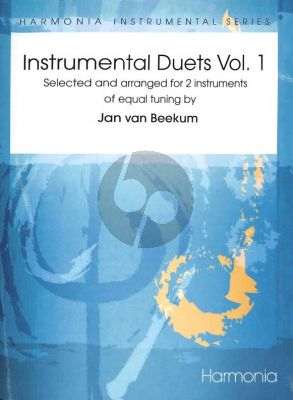 Beekum Instrumental Duets Vol.1 for 2 Melody Instruments (Each part can be played by more than one Instrument)