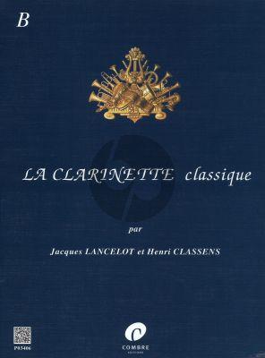 Clarinette Classique Vol.B Clarinette-Piano (Lancelot-Classens)