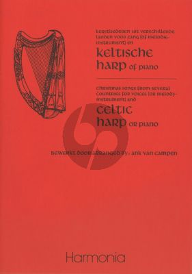 Kerstliederen/Christmas Songs (Voice[Melody Instruments] and Harp[Piano])