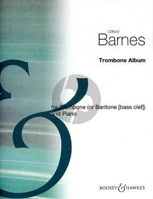 Barnes Trombone Album for Tromboe or Baritone Bass Clef