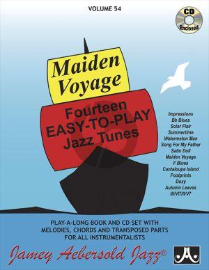 Aebersold Jazz Improvisation Vol.54 Maiden Voyage