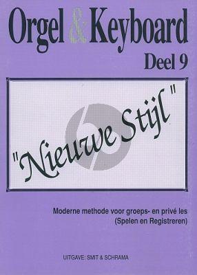 Smit-Schrama Orgel & Keyboard Nieuwe Stijl Vol. 9