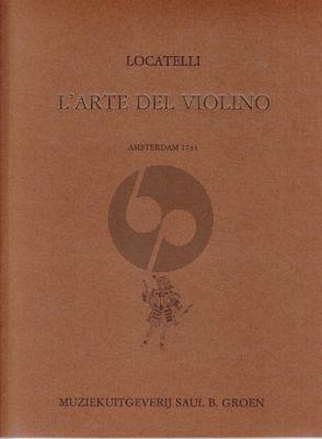 L'Arte del Violino (incl.12 Violin Concerto's and 24 Capricci) (with Bass) (facsimile ed. of 1733)