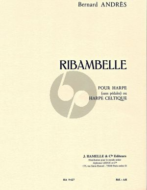 Andres Ribambelle pour Harpe (10 Pieces Faciles et Breves)