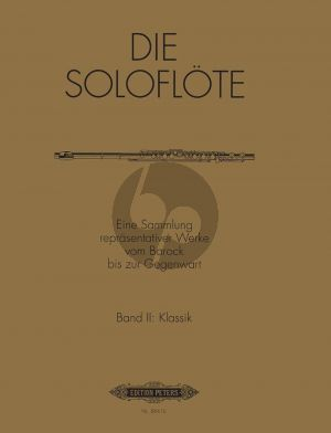 Album Die Soloflote Vol.2: Klassik (Eine Sammlung reprasentativer Werke vom Barock bis zur Gegenwart) (Herausgegeben von Mirjam Nastasi)
