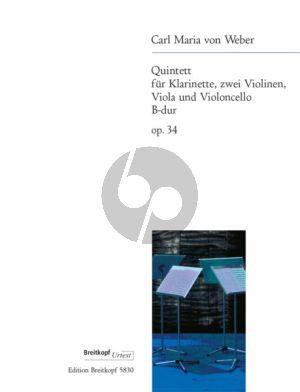Quintet Op.34 B-flat major