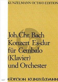 Bach Concerto Es-Dur Op.7 No.5 Cembalo[Klavier]-Orchester Partitur (Ákos Fodor)