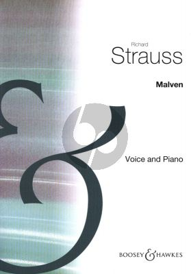 Strauss Malven for High Voice and Piano