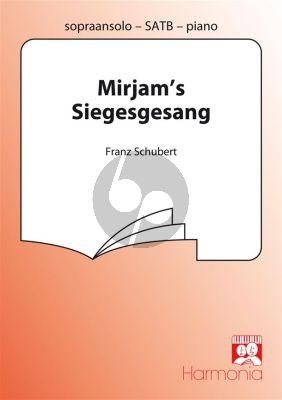 Mirjam's Siegesgesang Soprano solo-SATB-Piano Vocal Score