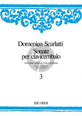 Scarlatti Sonate per Clavicembalo Vol.3