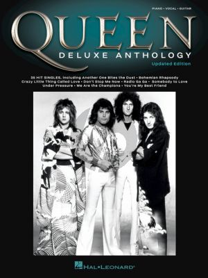 Queen – Deluxe Anthology Piano-Vocal-Guitar (updated edition)