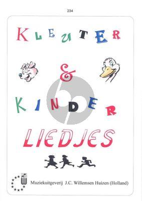 Kleuter en Kinderliedjes voor Piano