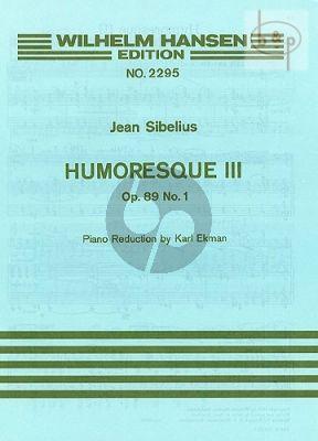Humoresque No.3 Op.89A