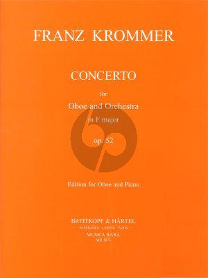 Krommer Concerto F-major Op.52 Oboe-Piano (Ledward)