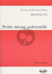 Petite Messe Solenelle Soli-Choir- 2 Pianos and Harmonium Choral Score