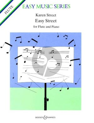 Street Easy Street for Flute and Piano