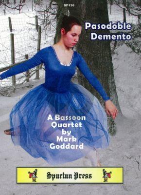 Goddard Paso Doble Demento 4 Bassoons (Score/Parts)