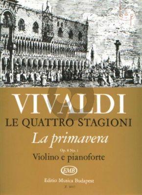 Concerto Op.8 No.1 (RV 269) La Primavera (4 Seasons)
