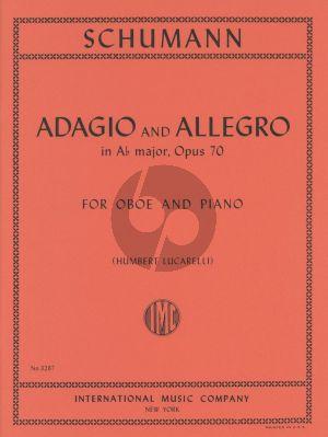 Schumann Adagio & Allegro A flat-major Op.70 Oboe and Piano (Humbert Lucarelli)