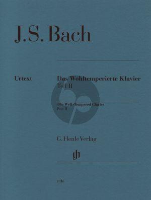 Bach Wohltemperierte Klavier Vol. 2 BWV 870 - 893