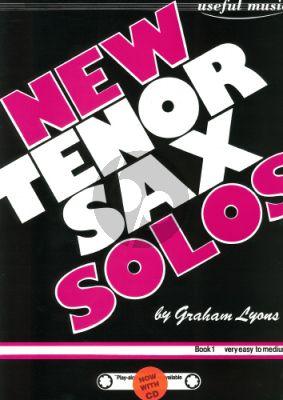 Lyons New Tenor Saxophone Solos Vol.1 (Bk-Cd)