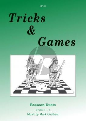 Goddard Tricks & Games for 2 Bassoons
