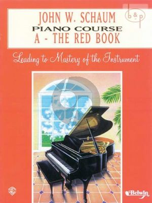 Piano Course Book A The Red Book