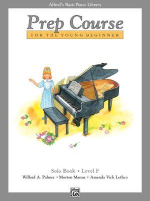 Alfred Prep Course Solo Book Level F