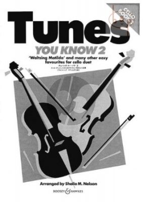 Tunes you Know Vol.2 Easy Favorites for Cello Duet