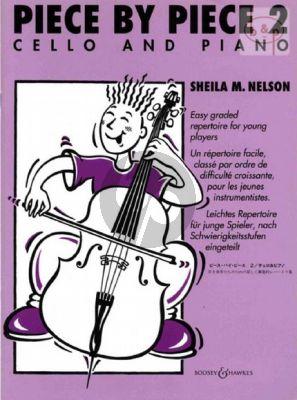 Piece by Piece Vol.2 Cello - Piano