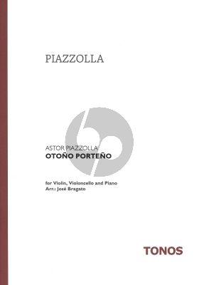 Piazzolla - Otono Porteno Vi.-Vc.-Klavier Komplett
