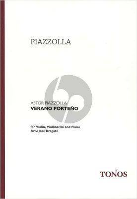 Piazzolla Verano Portena Violin-Violoncello-Piano