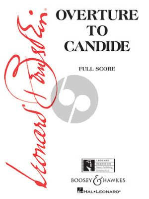 Bernstein Candide Ouverture Full Score