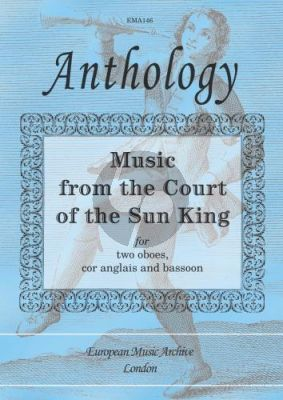 Music from the Court of the Sun King 2 Oboes-Cor Anglais-Bassoon (Score/Parts)