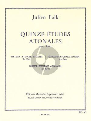 Falk 15 Etudes Atonales pour Flûte