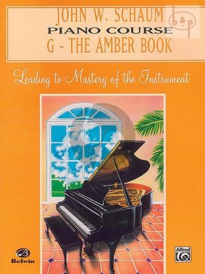 Piano Course Book G The Amber Book