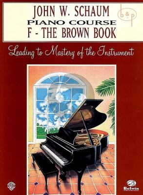 Piano Course Book F The Brown Book