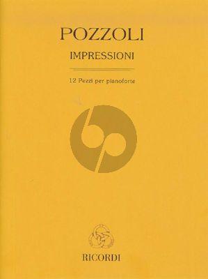 Pozzoli Impressioni (12 Pezzi per pianoforte)